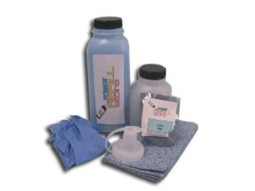- Toner Refill Store TM Cyan Toner Refill Kit with reset chip for the Xerox Phaser 6180, 6180N, 6180DN, 113R00723