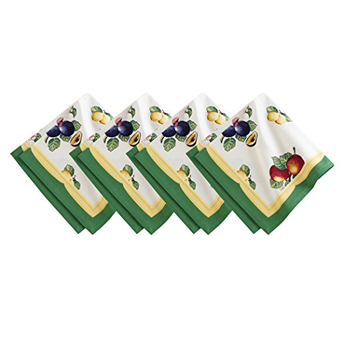 Villeroy and Boch French Garden Cotton Fabric Napkin (Set of 4), 21