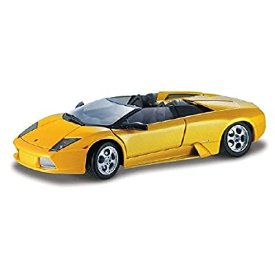 Maisto Lamborghini Murcielago Roadster Convertible, Yellow - Maisto 31636 - 1/18 Scale Diecast Model Toy Car: Toys & Games