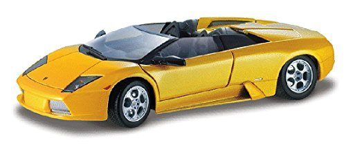 Lamborghini Murcielago Roadster Convertible, Yellow - Maisto 31636 - 1/18 Scale Diecast Model Toy Car