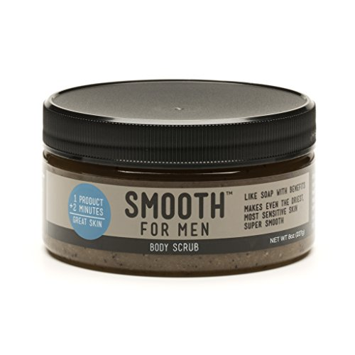 Cheap Smooth for Men Coffee Body Scrub – Formulated for Sensitive Skin – Eczema, Dry Skin, Psoriasis