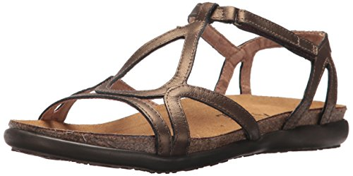 NAOT Women's Dorith, Grecian Gold Leather, 9 ()