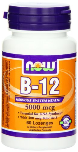 NOW Methyl B 12 000 Lozenges