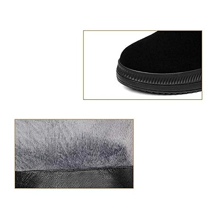 Scarpe E Borse Da Donna Col Tacco Ycgcm,stivali Inverno Stivali Neve Con Zeppa Fibbia Della Cintura Impermeabile Casual Piattaforma