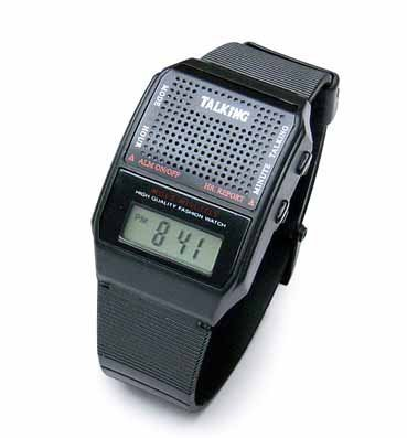 Economical Square Talking Watch by ila