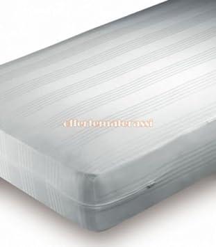 EFFETTO CASA Colchón Individual de algodón con Cremallera colchón látex Memory y Muelles: Amazon.es: Hogar