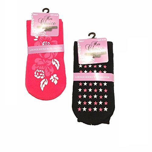 pour unique LTD taille MAGNUM femme FASHION Black Chaussons 1 Pink 1 x7wtpgZ