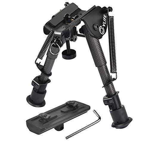 CVLIFE Carbon Fiber Rifle Bipod with...