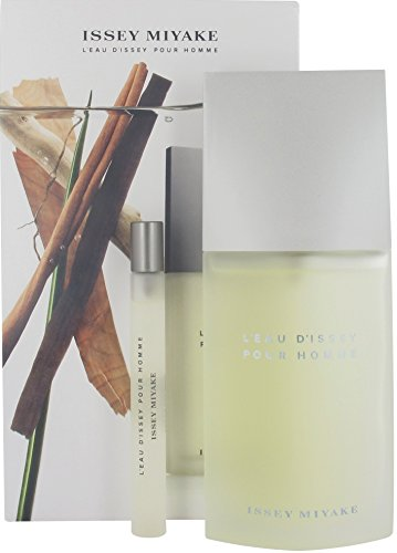 Issey Miyake L'Eau D'Issey Gift Set for Men (Miyake Mini Edt Issey)