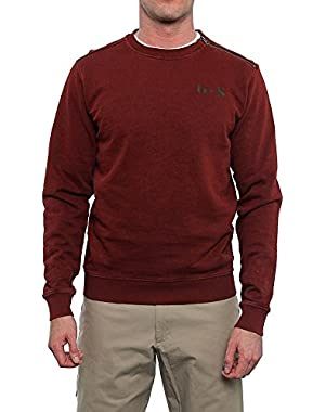 Newton Long Sleeve Crew Neck Sweater Men Regular Sweater Top