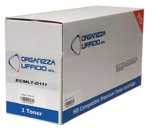 Organizza Ufficio Cartuccia Toner per Samsung SL-M2020w, SL-M2022, SL-M2022W, SL-M2070, SL-M2070FW, SL-M2070W, 1.800 Copie, Compatibile, Mod. I-MLT-D111S/L Organizzaufficio ORG2070