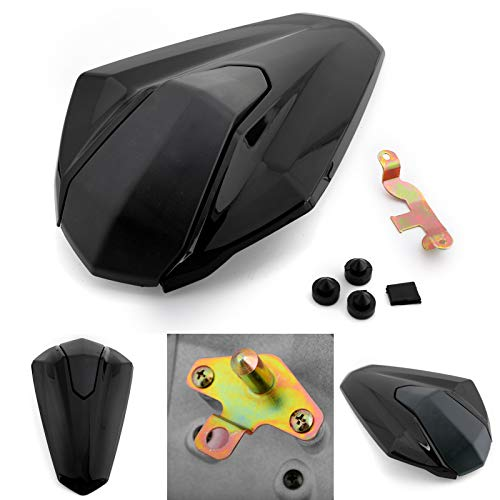 (Artudatech Passenger Rear Seat Cover Cowl For Kawasaki Ninja 400 / Ninja 400 ABS 2018 Black)