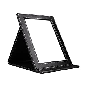 ducare portable folding vanity mirror with standing large home kitchen. Black Bedroom Furniture Sets. Home Design Ideas