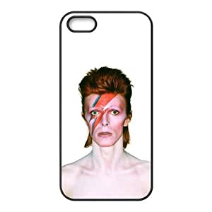 iPhone 5 5s Cell Phone Case Black David Bowie EDY Unique Phone Case For Guys