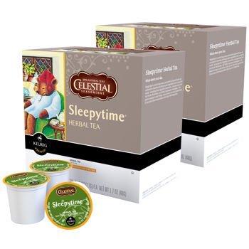 Celestial Seasonings Sleepytime Herbal Tea Keurig K-Cups, 180 Count by Celestial Seasonings