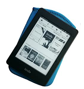 "Düssel Blue/Turquoise Neoprene Sleeve/Slip Case for Newest 6"" Kindle Non-Keyboard (2011) Cover/Slipcase/Sleeve"