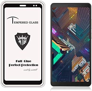 Black GzPuluz Glass Protector Film 25 PCS Full Screen Full Glue Anti-Fingerprint Tempered Glass Film for Lenovo Tab V7