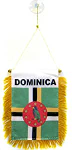 Dominica 120 Pieces of Each Country Mini Banners
