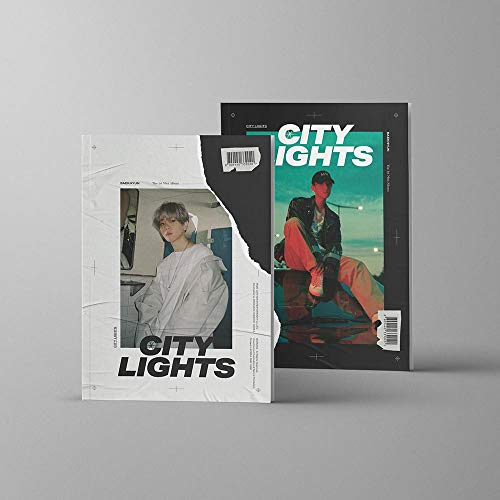 SM Entertainment Baekhyun - City Lights [Day ver.] (1st Mini Album) CD+Booklet+Folded Poster+Double Side Extra Photocards Set