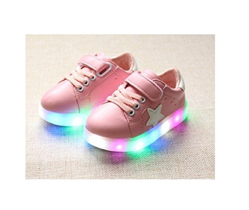 Children Shoes LED Light Kids Shoes with light Baby Boys Girls Lighting Sneakers Casual Children Sneakers (5.5, - Price Ferrari Hk