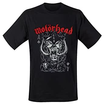 Motorhead - Motorhead Mens Tee: Playing Card (Small) - Black - Small