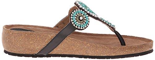 Azura De Spring Step Mujeres Lori Slide Sandal Turquesa
