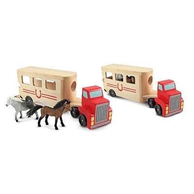 Melissa & Doug Horse Carrier: Melissa & Doug: Toys & Games