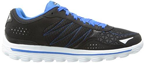 Skechers GO Walk 2Flash - Zapatillas para hombre Negro (Black/Blue)
