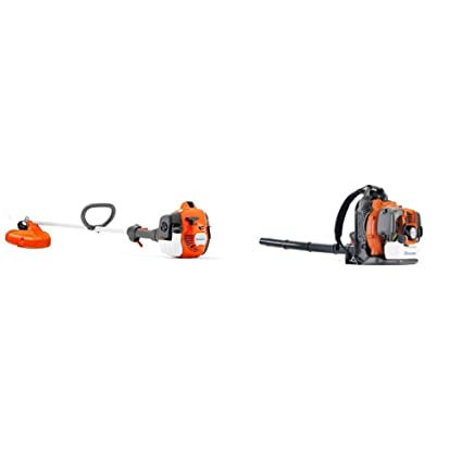 Amazon.com: Husqvarna 322L 17in Trimmer de cuerdas y 150BT ...