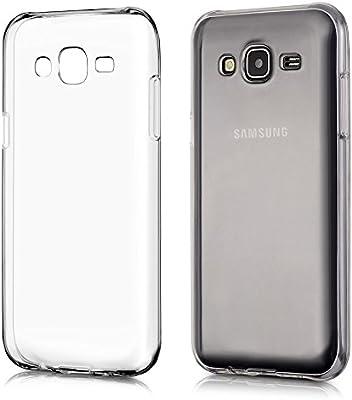 REY Funda Carcasa Gel Transparente para Samsung Galaxy J5 Ultra Fina 0,33mm, Silicona TPU de Alta Resistencia y Flexibilidad: Amazon.es: Electrónica