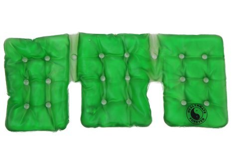 Trisectional Neck and Shoulder Instant Heat Packs Green