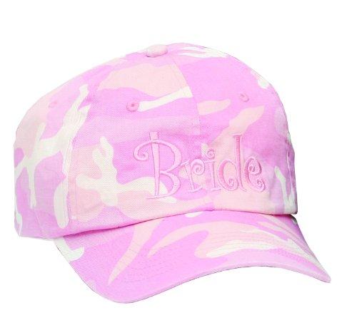 Hortense B. Hewitt Wedding Accessories Pink Bride Camouflage (Camouflage Crown Cap)