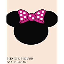 Minnie Mouse with Bow:Disney autograph book, Personalized Adventure,memory book: Scrapbook, stamp book for going to Disney,gift for a girl,notebook,blank book,journal