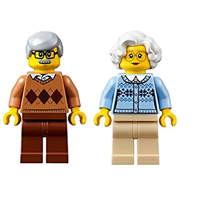 LEGO Town City Fun in The Park Minifigure - Grandma and Grandpa (60134): Toys & Games