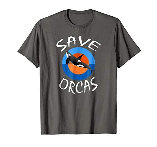 Killer Whale T-shirt - Save Orcas Ocean Biologist See Panda -
