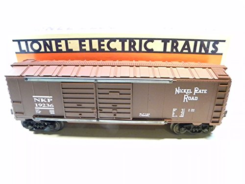 - Lionel 19236 Nickel Plate Road Double Door Boxcar O Gauge Train