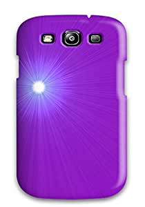 Hot Style PzlRpCA7792bJlaB Protective Case Cover For Galaxys3(purple Glare)