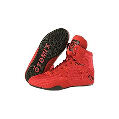 Otomix Stingray Boot Wrestling Shoes - Red / Black - Size - 9-1/2