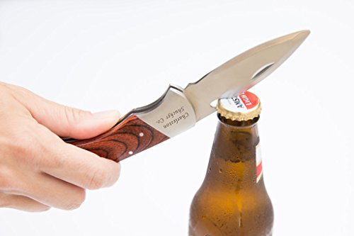 The Stowaway Shucker by The Charleston Shucker Company. The only 2 in 1 folding oyster knife on the market by The Charleston Shucker Company (Image #1)