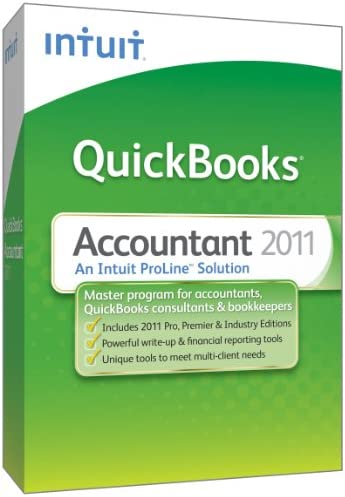 QuickBooks Accountant 2012 OLD VERSION product image