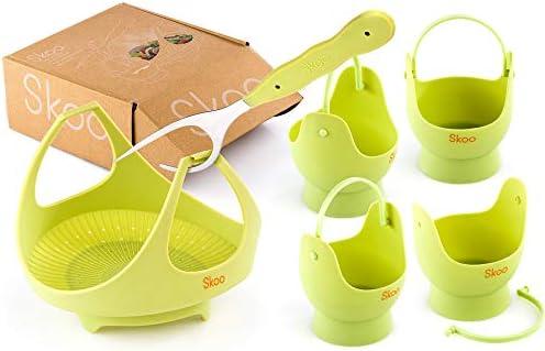 Amazon.com: Skoo - Cesta para verduras + huevo cesta para ...