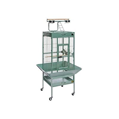 Prevue Pet Products Wrought Iron Select Bird Cage Black Hammertone 3151BLK from Prevue Pet Products Inc