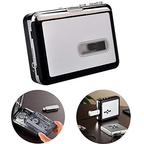 mingxiao Walkman Tape Compatible with Laptop Tape-to-MP3 Cassette Player Converter Via USB Converter Portable Cassette Tape
