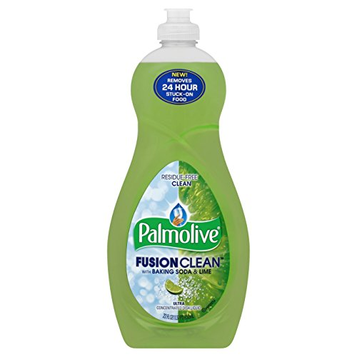 Palmolive Fusion Clean Dish Liquid, Lime, 22 Fluid Ounce (Pack of 12)