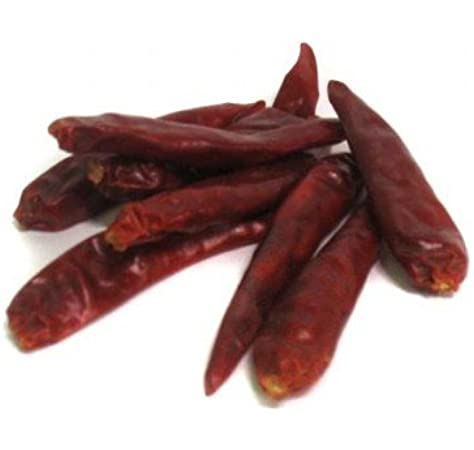 Amazon Com Dried Chile Japones 2 Oz Life Gourmet Shop Japanese Chiles Grocery Gourmet Food