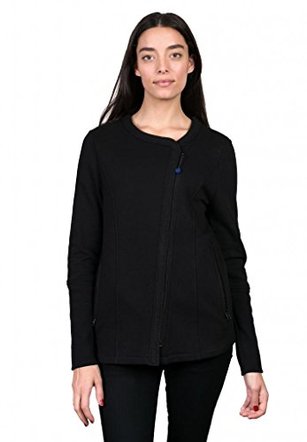 Give Apparel Meaning Women's Weekend Zip, Black, Small