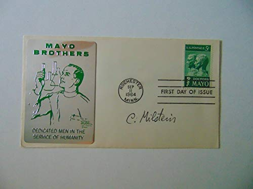 "RARE!""Nobel Prize in Medicine"" César Milstein FDC Dated 1964 Todd Mueller COA from Unknown"
