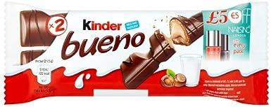 Kinder Bueno, 43g: Amazon.es: Alimentación y bebidas