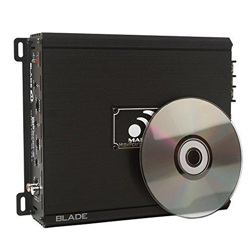 Massive Audio BP500.2 Power Series. 2 Stable, Class A/B, Car Amplifier Bass Boost.