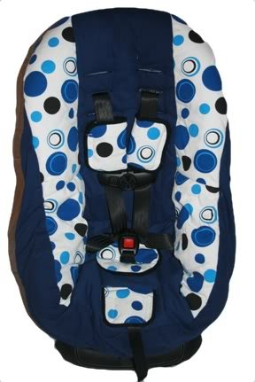 Tremendous Amazon Com Blue Dots Toddler Car Seat Cover Fits Britax Pdpeps Interior Chair Design Pdpepsorg